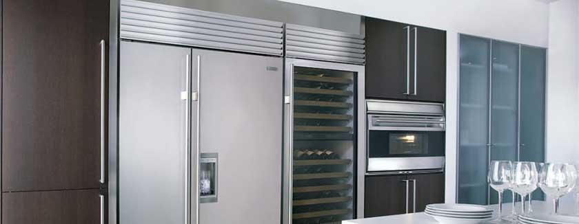 Sub Zero refrigerator movers